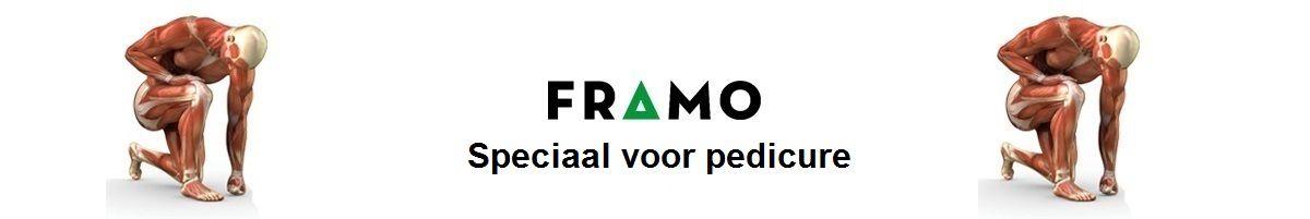 Pedicure groothandel en voetverzorging webwinkel FRAMO voordelig professioneel, klantvriendelijk en servicegericht