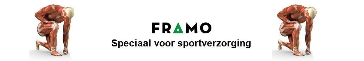 Sportverzorging groothandel en sport medische webwinkel FRAMO voordelig professioneel, klantvriendelijk en servicegericht.