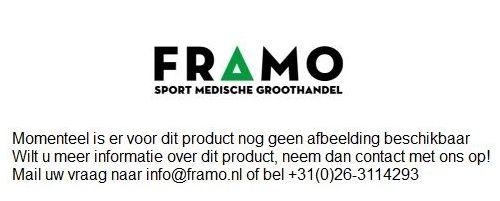 FRAMO kit 450 aluminium sportverzorgingskoffer open schuin