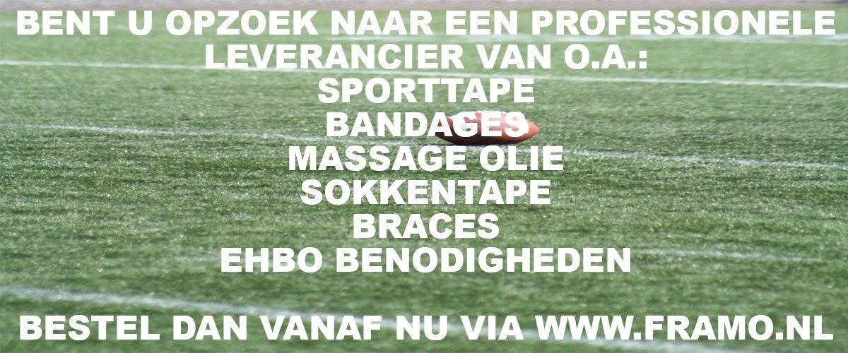 Bestel vanaf nu uw braces bij FRAMO Sport Medische Groothandel