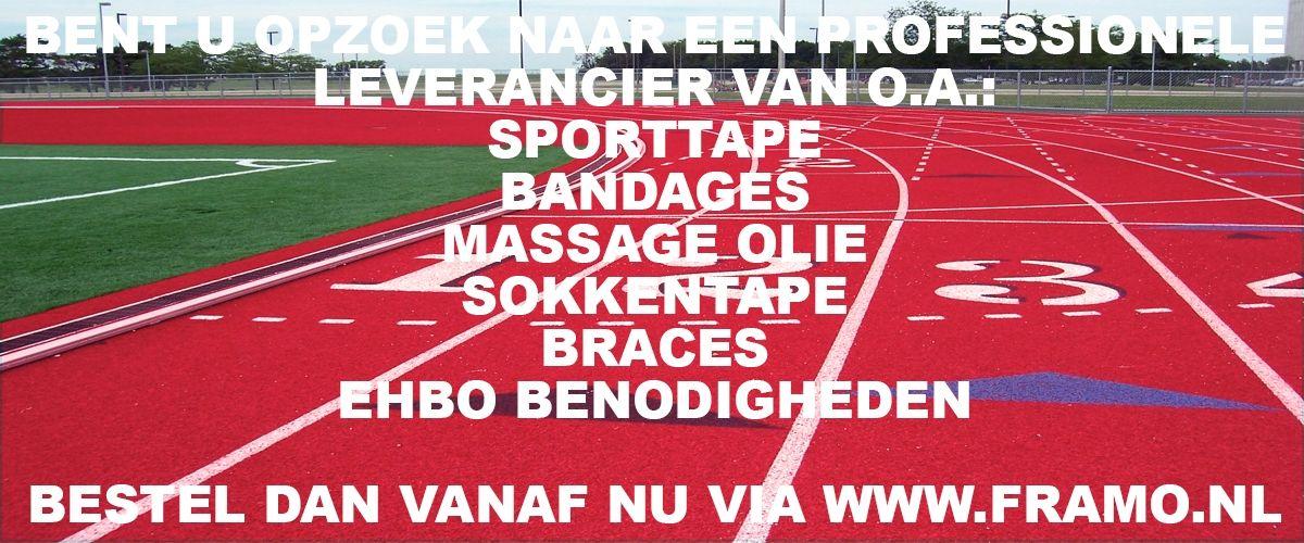 Bestel vanaf nu uw bandages bij FRAMO Sport Medische Groothandel