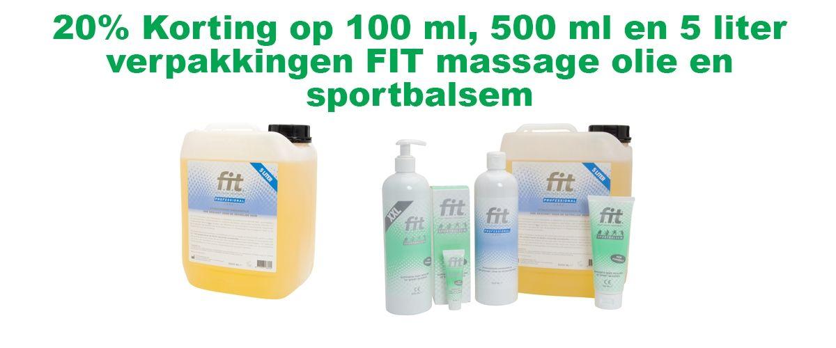FIT sportmassageolie en sportbalsem besteld u bij FRAMO