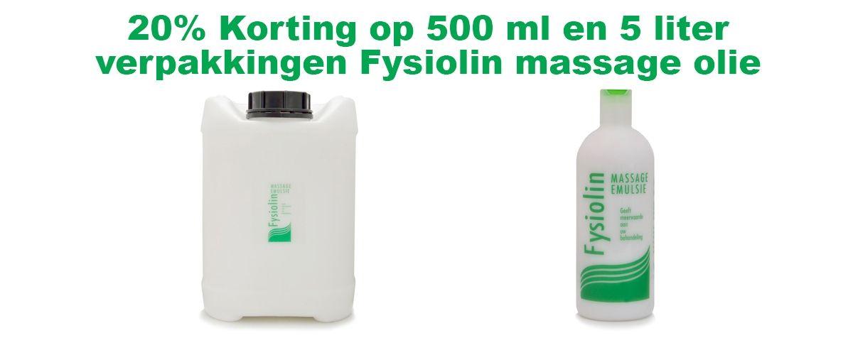 Fysiolin slider met producten