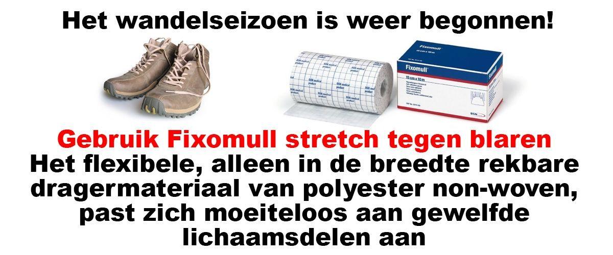 Fixomull stretch altijd handig, FRAMO Sport Medische Groothandel